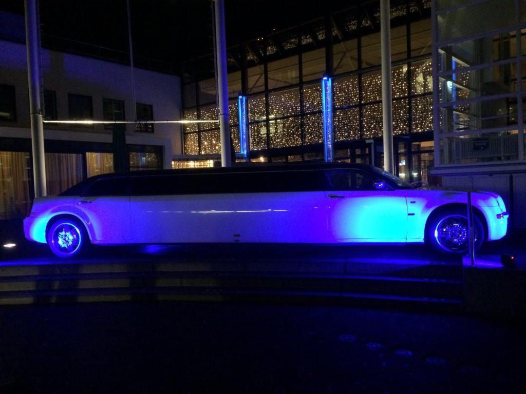 Limousine uitgelicht de Watersnip van Keulen LED verlichting