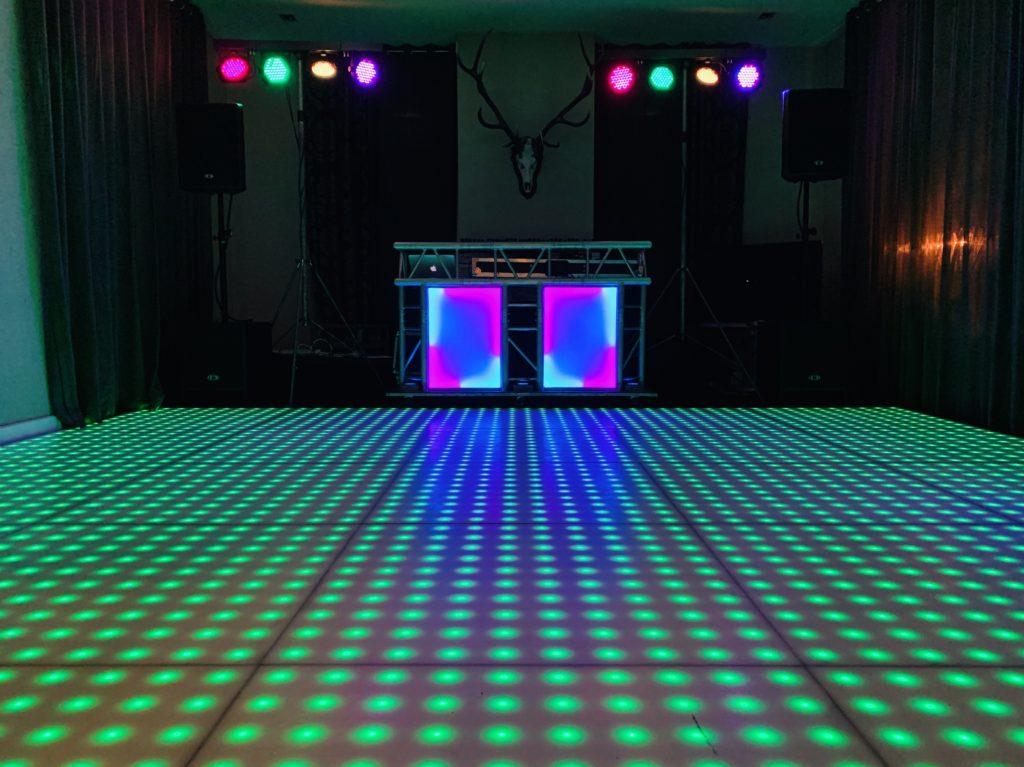 Drive-In Show met LED Dansvloer